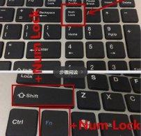 电脑键盘不能打字了按哪个键恢复